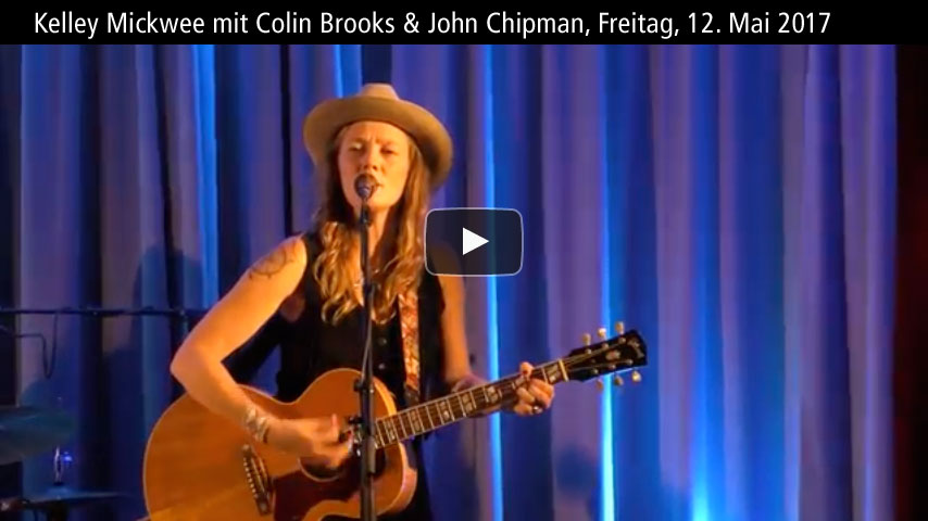 Konzert Kelley Mickwee mit Colin Brooks und John Chipman in Breitenbach